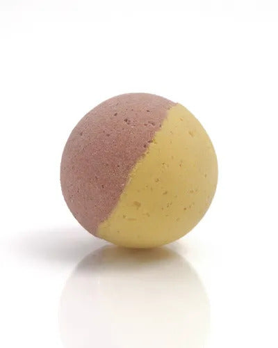 Saponaria Raspberry-Lemonade Bath Bomb, 175g