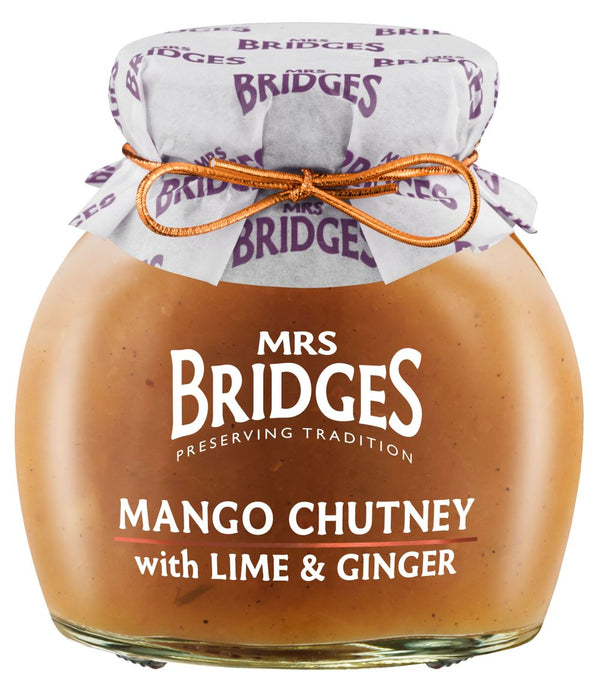 Mrs. Bridges Mango Chutney with Lime Ginger, 290g