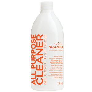 Sapadilla All Purpose Cleaner, Grapefruit + Bergamot, 739ml