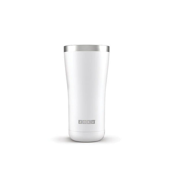 Zoku 20oz Stainless Vacuum Sealed Tumbler - White