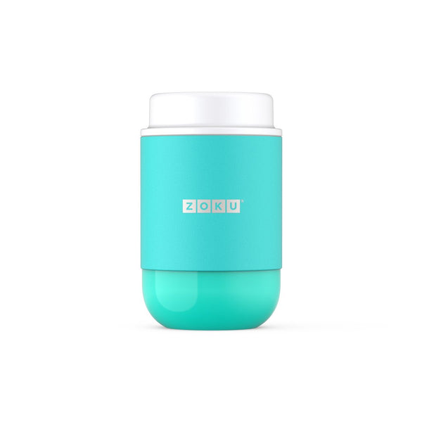 Zoku 16oz Neat Stack Stainless Steel Food Jar - Aqua