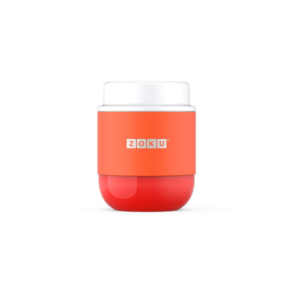 Zoku 10oz Neat Stack Stainless Steel Food Jar - Papaya