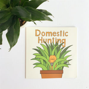 James the Cat - Domestic Hunting Book