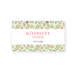 Wildberry Studio Gift Card