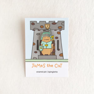 James the Cat - James the Knight