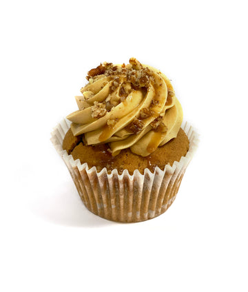 Box of Coffee, Pecan & Salted Caramel Cupcakes (GF)