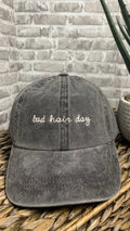 Baddie Bad Hair Day Baseball Cap | Black