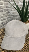 Cute & Corduroy Dad Hat | Icegray