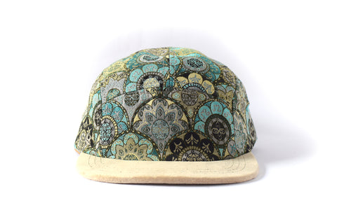 Vicalvi Turqesa Five Panel Hat (sb)