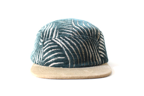 Fern Tropic Verde Five Panel Hat