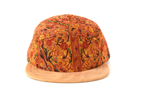 Al Qamsiyah Naranja Five Panel Hat (sb)
