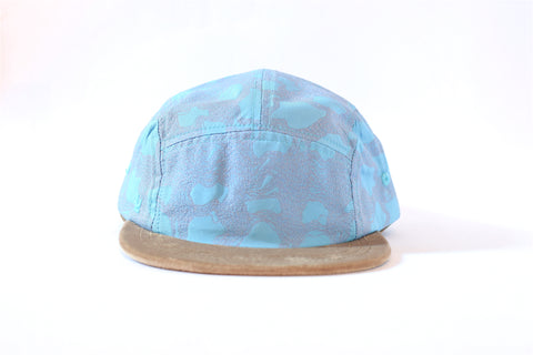 Valsamoggia Beige Five Panel Hat (sb)