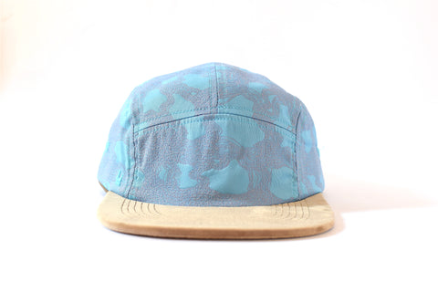 Valsamoggia Beige Five Panel Hat