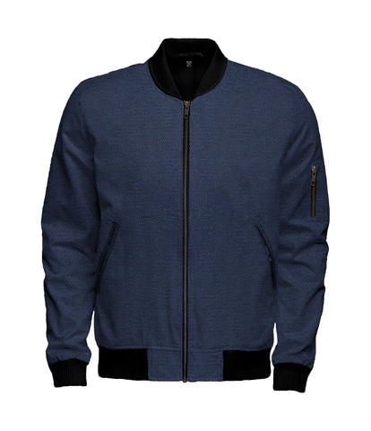Stitch Azul Bomber Jacket - $200