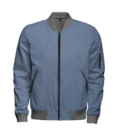 Mini Herringbone Wool Bomber Jacket - $260