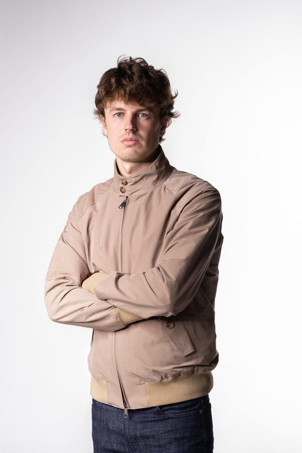 Baracuta G9 Harrington Jacket Tan - Baracuta