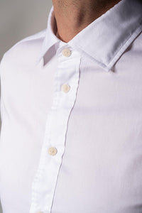 Blue de Gênes Miguel Brilliante Shirt White