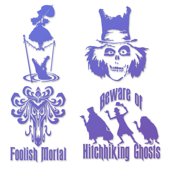 Haunted Mansion Decals