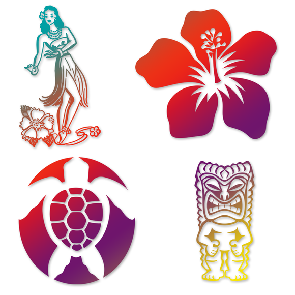 Tropical Tiki  Decals