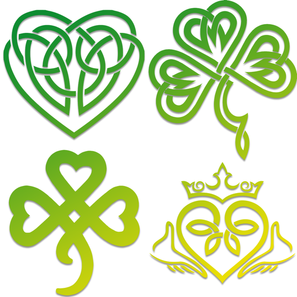 Irish Celtic Decals