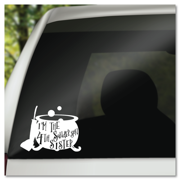 4th Sanderson Sister Hocus Pocus Vinyl Decal Sticker