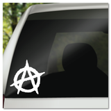 Anarchy Punk Rock Symbol Vinyl Decal Sticker
