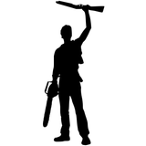Evil Dead Army of Darkness Ash Williams Boomstick Vinyl Decal Sticker