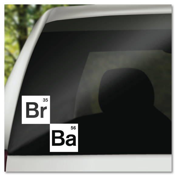 Breaking Bad BR35 BA56 Vinyl Decal Sticker