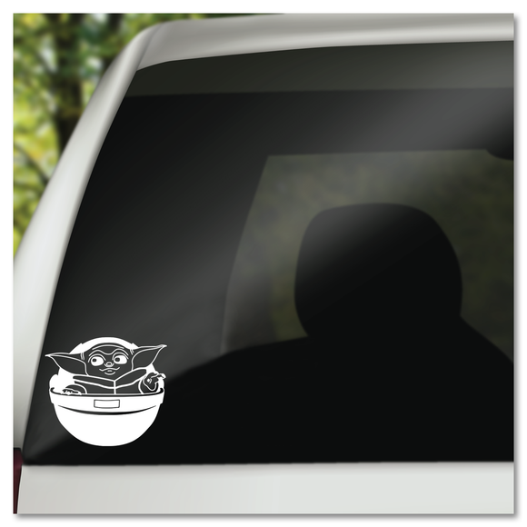 Baby Yoda Season 1 The Mandalorian Disney Vinyl Decal Sticker