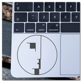 Bauhaus Face Logo Vinyl Decal Sticker