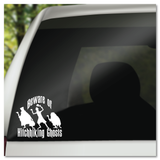 Disney Haunted Mansion Beware of Hitchhiking Ghosts Vinyl Decal Sticker