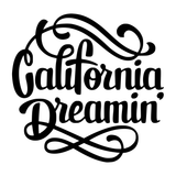 California Dreamin' Vinyl Decal Sticker