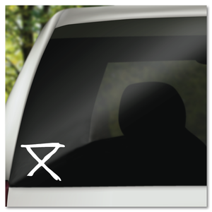 Circa Survive Safe Camp Hobo Code Symbol Vinyl Decal Sticker