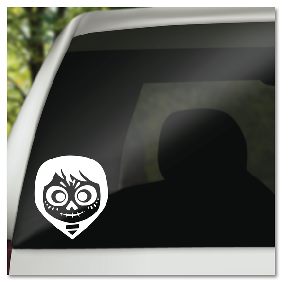 Miguel Day of the Dead Face From Disney's Coco Vinyl Decal Sticker