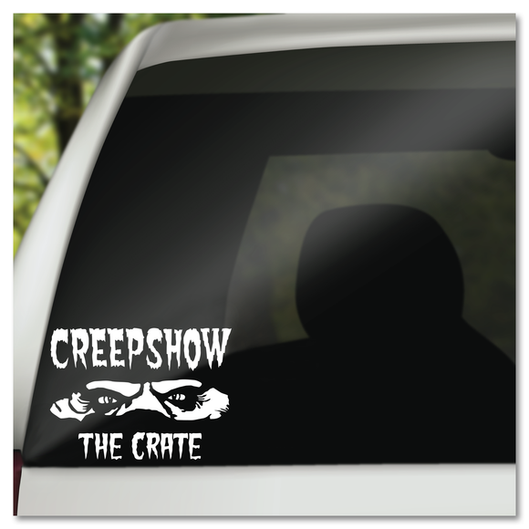 Stephen King Creepshow The Crate Monster Vinyl Decal Sticker