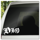 DIO Vinyl Decal Sticker