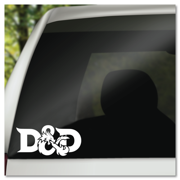 D&D Dragon Logo Vinyl Decal Sticker