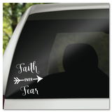 Faith Over Fear Vinyl Decal Sticker