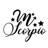 Scorpio Fancy Zodiac Symbol Horoscope Vinyl Decal Sticker