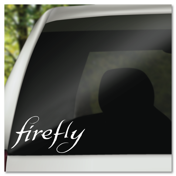 Joss Whedon's Firefly Logo Vinyl Decal Sticker