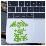 GWAR Flying Eyeball & Skull Logo Vinyl Decal Sticker