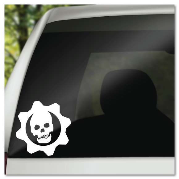 Gears Of War Crimson Omen Logo Vinyl Decal Sticker
