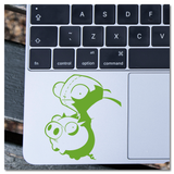 Invader Zim Gir on Pig Vinyl Decal Sticker