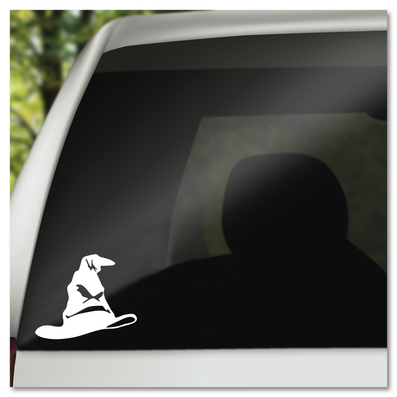 Harry Potter Hogwarts Sorting Hat Vinyl Decal Sticker