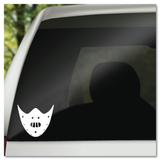 Hannibal Lecter Mask Silence of The Lambs Vinyl Decal Sticker