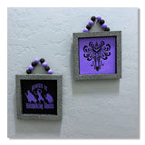 Haunted Mansion Beaded Hanging Plaque Set