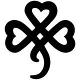 Celtic Irish Shamrock Clover Knot St Patrick's Day Vinyl Decal Sticker