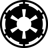 Star Wars Imperial Crest Galactic Empire Symbol Vinyl Decal Sticker