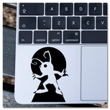 Kingdom Hearts Heartless in Keyhole Vinyl Decal Sticker