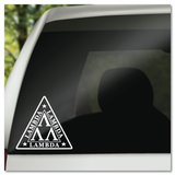 Revenge of the Nerds Lambda Lambda Lambda Fraternity Vinyl Decal Sticker